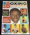 Boxing Illustrated / Wrestling News October 1966 Emile Griffith, Verne
