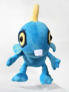 WOW WORLD OF WARCRAFT MURLOC Stuffed Plush TOYS BLUE