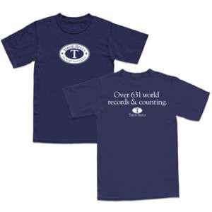 Tibor Fly Reels Navy World Record T Shirt Sm NEW
