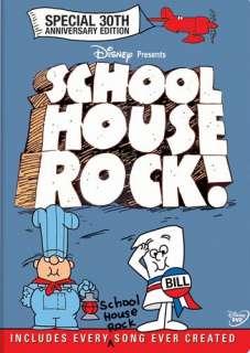 SCHOOLHOUSE ROCK New 2 DVD 30th Anniversary Edition 786936157826