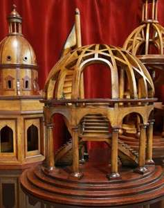 Dome Architectural 3D Wooden Model 16 x 18 Dome Authentic Models New