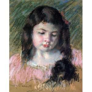 FRAMED oil paintings   Mary Stevenson Cassatt   24 x 30 inches   Bust