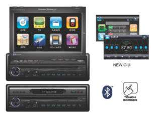 Power Acoustik PTID8970NRB 7 InDash DVD/Bluetooth Unit