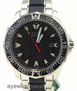 CITIZEN BN0030 71E Eco Drive Infusion Mens Diver Watch