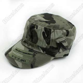 Jeep Women Men 1941 Army Military Sun Casual Hat Cap Camouflage