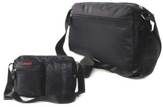 EG122*NEW Messenger SHOULDER BAG*Organizer Book Bag*