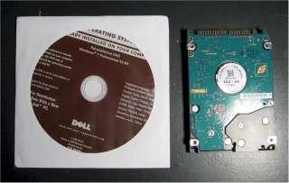 Dell Windows 7 Professional 32bit DVD w/ CD KEY   VERY FAST FREE