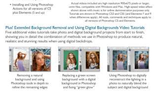 VIDEO TUTORIALS, DIGITAL TEMPLATES, BACKDROPS, ACTIONS!