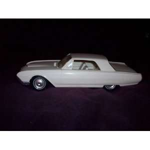 1962 Ford Thunderbird Hardtop, Corinthian White with Tan Seat Accents