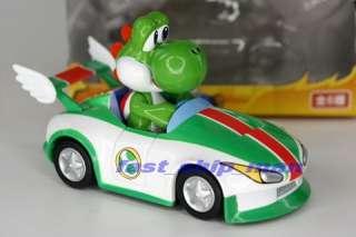 Nintendo Super Mario Bros Mariokart rollback car 6B