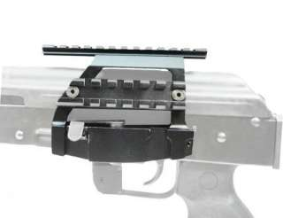 Detachable Double Picatinny Rail Side Scope Mount 7.62X39 RIFLE