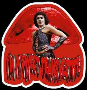 70s Cult Classic The Rocky Horror Picture Show Sweet Transvestite
