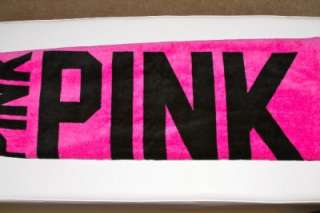 NWT VICTORIAS SECRET PINK BEACH TOWEL  ALL COLORS AVAILABLE