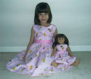Matching 18 Doll Dress Fit American Girl Doll Unique