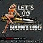Whitetail Deer Sticker Decal Ghost Buck, Deer Hunting Archery Buck