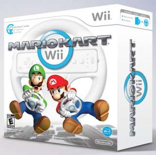 Mario Kart Game with Wheel