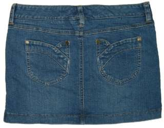 Abercrombie Girls Blue Denim Pencil Skirt NEW sz 14
