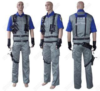 Resident Evil Combat uniform Albert Wesker costume