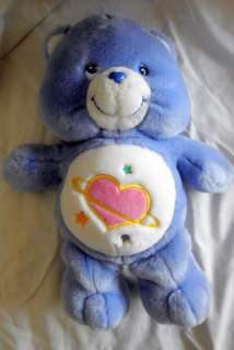 12 Care Bears Purple Day Dream Talking Bear EUC