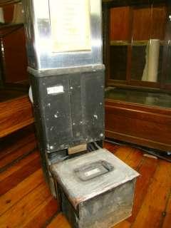 MTA coin fare box Metro Transit Authority Bus