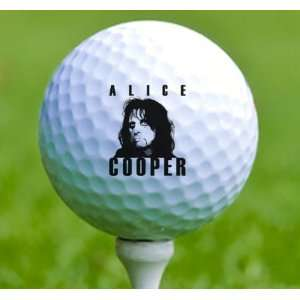 3 x Rock n Roll Golf Balls Alice Cooper Musical Instruments