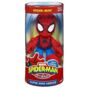 Marvel Spider Man & Friends Spider Man Mini Heroes Plush Toys & Games