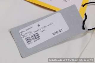 WeSC Farley L/S Button Up Shirt huf wtaps visvim WINTER WHITE Small S