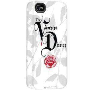 Vampire Diaries Logo White iPhone Case Style 1: Cell