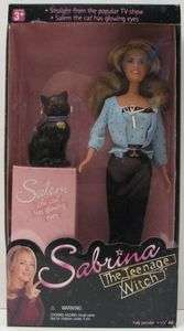 1999 SABRINA THE TEENAGE WITCH DOLL ~ MIB NRFB Melissa Joan Hart TRU