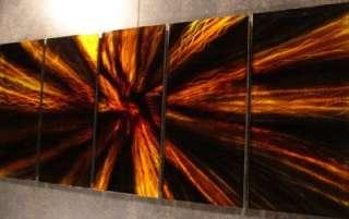 ABSTRACT WALL ART METAL PAINTING DECOR SCULPTURE MODERN