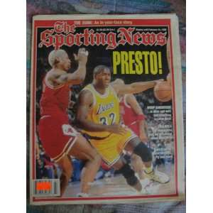 The Sporting News Magazine Display until February 14 1996