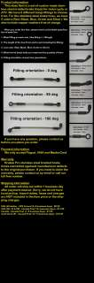 Motorcycle stainless brake lines hose kit   free banjo bolts