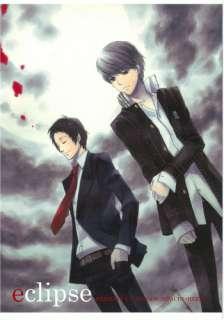 Shin Megami Tensei Persona 4 doujinshi Adachi x Hero (Souji) eclipse