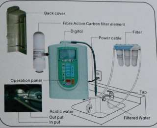 Alkaline water ionizer purifier high quality hot sell