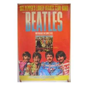 The Beatles Poster Sgt Pepper Lonely Hearts Club Band