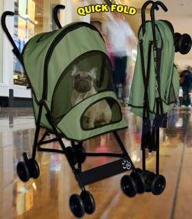 Pet Gear Travel Lite Stroller TL8100SG, PK, OB, LV, CR