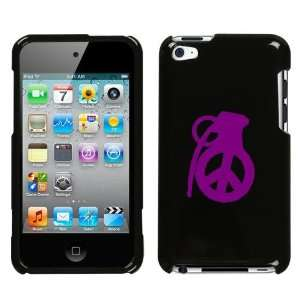 APPLE IPOD TOUCH ITOUCH 4 4TH PURPLE PEACE GRENADE ON A