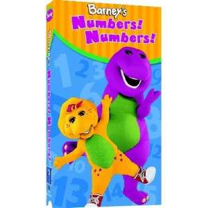 Barneys Numbers Numbers Learning VHS Kids Sing Dance