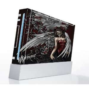 Gothic Angel Decorative Protector Skin Decal Sticker for Nintendo Wii
