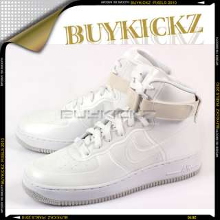 Nike Air Force 1 High Hyperfuse Premium White/Grey 2011 454433 100