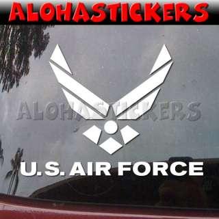 US AIR FORCE Vinyl Decal Car Truck Window Sticker ML31