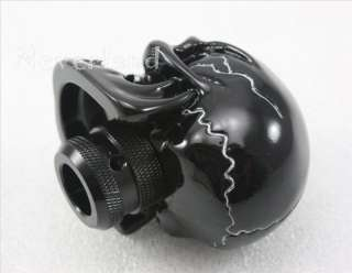 Universal Manual Gear stick Shift Shifter Lever Knob Wicked Carved