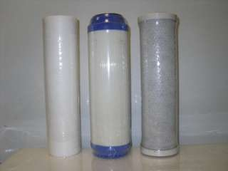 REVERSE OSMOSIS/DRINKING WATER FILTER FILTERS 3PCS.