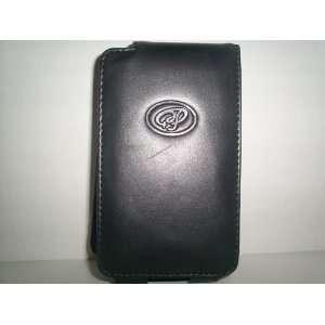 black leather flip case for (video) IPOD
