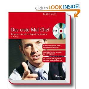 Das erste Mal Chef (9783448065688) Ralph Frenzel Books