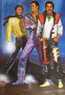 MICHAEL JACKSON 1984 JACKSONS VICTORY TOUR POSTER RARE