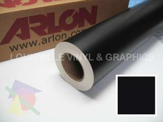 Roll 24 X 10 Black Matte Arlon 5000 Sign Cutting Vinyl