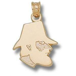 Appalachian State Mountaineers Solid 14K Gold Classic Mountaineer