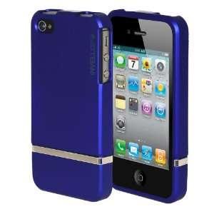 INVELLOP #10 BLUE SLIDER Apple iPhone 4 4G 4S Case Hard Cover Bumper
