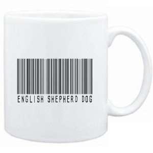 Mug White  English Shepherd Dog BARCODE  Dogs:  Sports